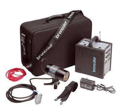 Obrázek Broncolor Mobil A2R Travel Kit (generátor bateriový vč. Olověné baterie )