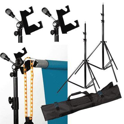 Obrázek Profesionální systém pro uchycení pozadí ve fotoateliéru