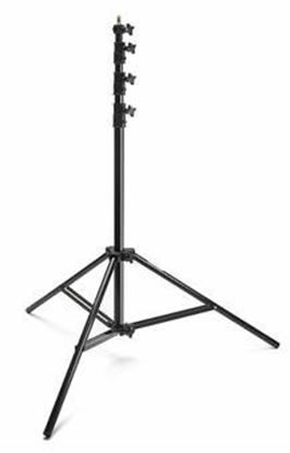 Obrázek Lehký aluminiový stativ pro lampy černý 260