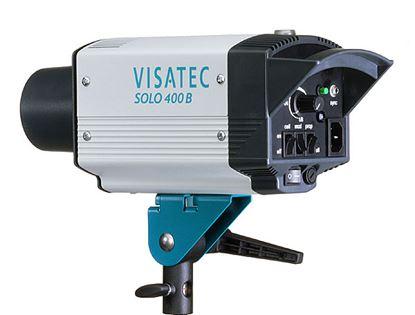Obrázek Visatec SOLO 400 - Ateliérová záblesková světla – směrné číslo: clona 32, 100 ISO, 1 m při použití univerzálního reflektoru