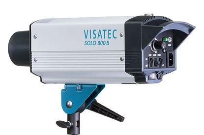 Obrázek Visatec SOLO 800 - Ateliérová záblesková světla – směrné číslo: clona 45, 100 ISO, 1 m při použití univerzálního reflektoru