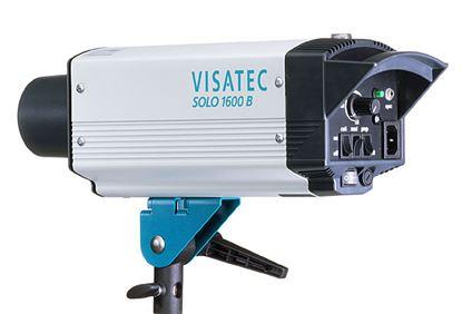 Obrázek Visatec SOLO 1600 - Ateliérová záblesková světla – směrné číslo: clona 64, 100 ISO, 1 m při použití univerzálního reflektoru