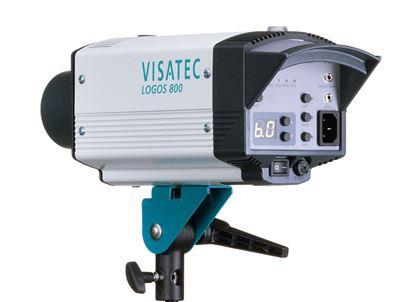 Obrázek Visatec LOGOS 800 RFS - Ateliérová záblesková světla – směrné číslo: clona 45, 100 ISO, 1 m při použití univerzálního reflektoru