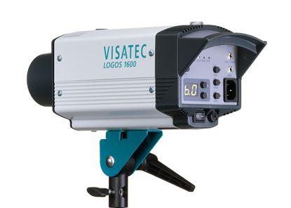 Obrázek Visatec LOGOS 1600 - Ateliérová záblesková světla – směrné číslo: clona 64, 100 ISO, 1 m při použití univerzálního reflektoru - AKCE