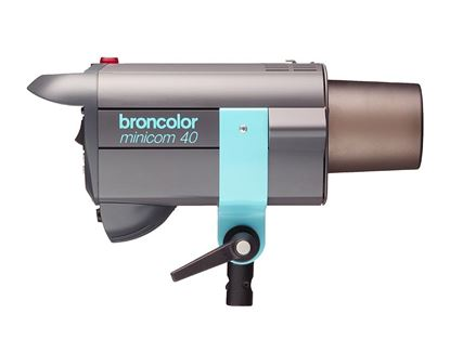 Obrázek Broncolor Minicom 40 Multi-Voltáge - Ateliérová záblesková světla – směrné číslo: clona 22 5/10, 100 ISO, 2 m při použití univerzálního reflektoru P70