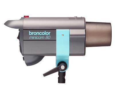 Obrázek Broncolor Minicom 80 Multi-Voltáge - Ateliérová záblesková světla – směrné číslo: clona 32 5/10, 100 ISO, 2 m při použití univerzálního reflektoru P70