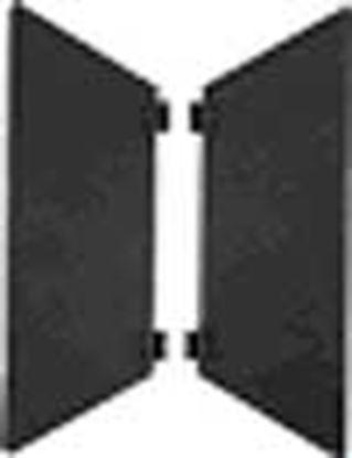 Obrázek Odstínovaní klapky dvoukřídlé pro niverzální reflektor