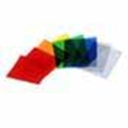 Obrázek Sada barevných filtrů pro univerzální reflektor (12 ks)