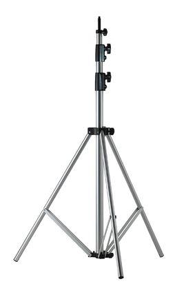 Obrázek Stativ XXL pro lampy stříbrný 277 cm vč. vzduchové brzdy