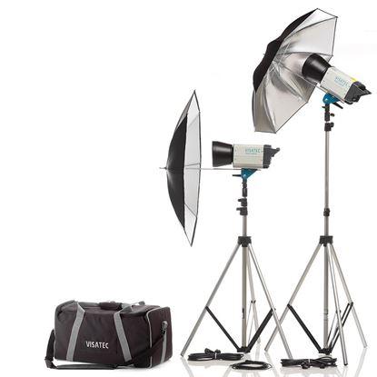 Obrázek Sestava Visatec Car Kit Solo 400 B - Ateliérová záblesková světla