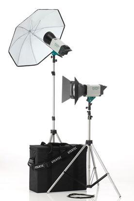 Obrázek Sestava Visatec Solo Kit 204 - Ateliérová záblesková světla