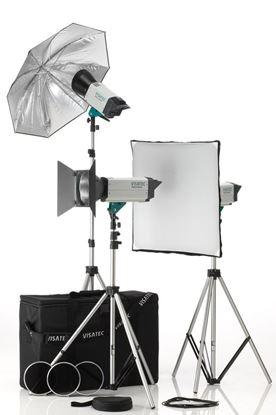 Obrázek Sestava Visatec Solo Kit 384 - Ateliérová záblesková světla