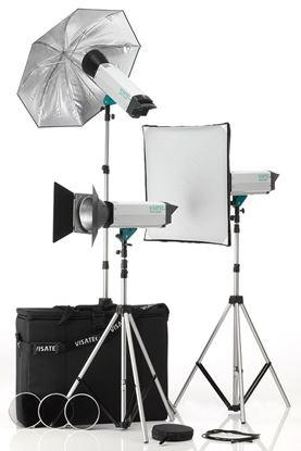Obrázek Sestava Visatec Solo Kit 332 - Ateliérová záblesková světla