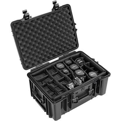 Obrázek TYP 67 - Vodotěsný kufr s kolečky vč. dělících přepážek s bezpečnostním