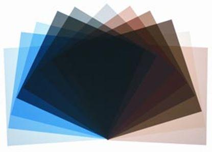 Obrázek Sada šedivých korekčních filtrů (12 ks) pro reflektor P-70