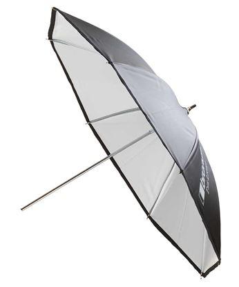 Obrázek Deštní bílý odrazný 102 cm pro všechny typy zábleskových světel Broncolor Minicom, Minipuls, Litos, Pulso G, Unilite, Picolite, Mobilite, Visatec Solo, Logos