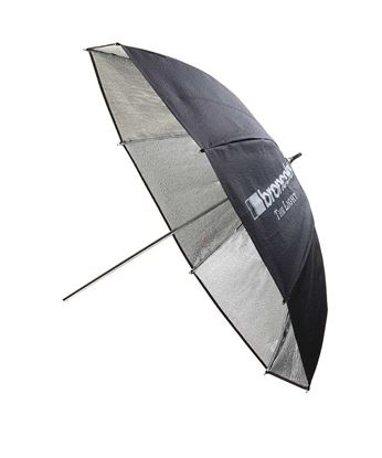 Obrázek Deštní stříbrný odrazný 82 cm pro všechny typy zábleskových světel Broncolor Minicom, Minipuls, Litos, Pulso G, Unilite, Picolite, Mobilite, Visatec Solo, Logos