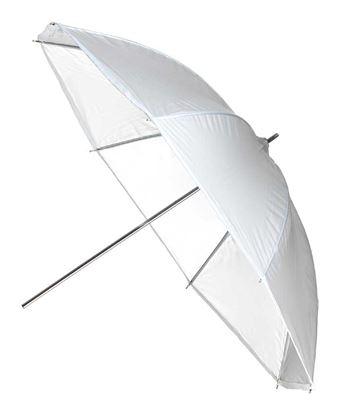 Obrázek Deštník transparentní 102 cm pro všechny typy zábleskových světel Broncolor Minicom, Minipuls, Litos, Pulso G, Unilite, Picolite, Mobilite, Visatec Solo, Logos