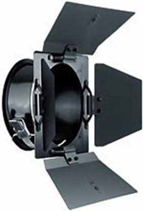Obrázek 4-křídlé odstíňovací klapky pro pro zábleskové lampy Mobilite, Picolite