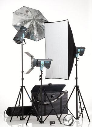 Obrázek Sestava Minicom Expert Kit RFS - Ateliérová záblesková světla
