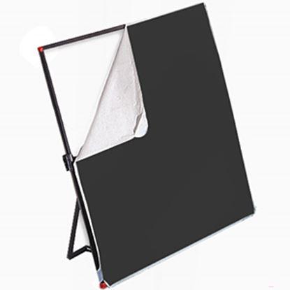 Obrázek Látka bílá/černá pro Litepanels 99 x 183 cm