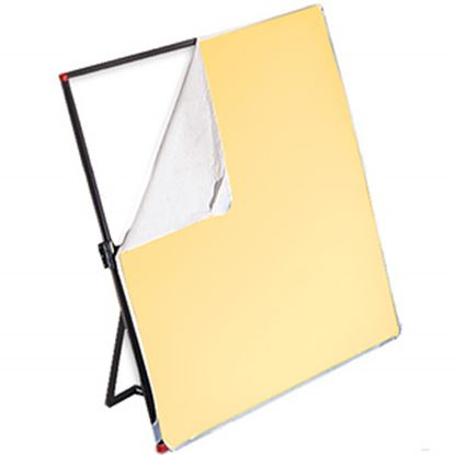 Obrázek Látka bílá/jemně zlatá pro Litepanels 99 x 183 cm