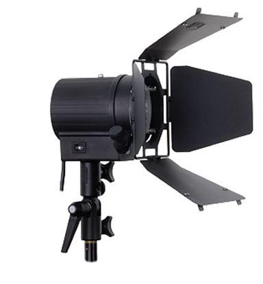 Obrázek Hedler C 12 Silent halogenová lampa včetně 4 křídlých odstínovacích klapek a halogenové žárovky 1000 W