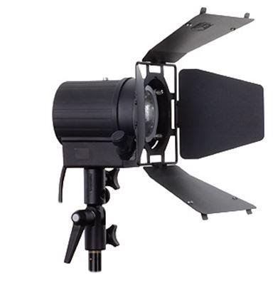 Obrázek Hedler C 12 Silent halogenová lampa včetně 4 křídlých odstínovacích klapek a halogenové žárovky 1250 W