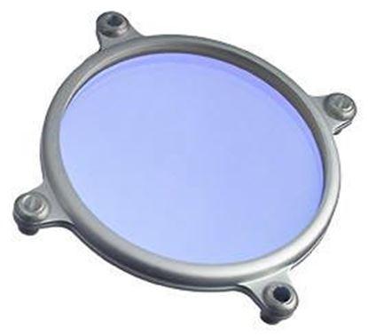 Obrázek Převodní filtr z 3200 K na cca 5600 K pro halogenové lampy typ C průměr 69,5 cm. Max výkon 1000 W