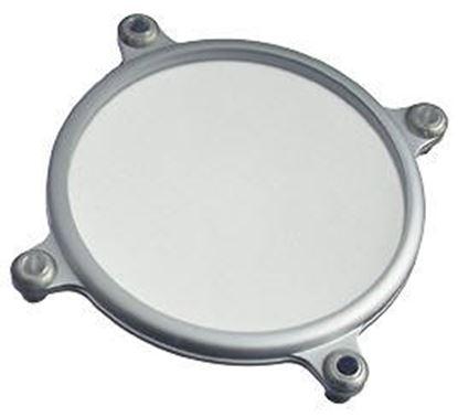 Obrázek Bezpečnostní sklo matné pro halogenové lampy typ C průměr 69,5 cm. Max výkon 1000 W