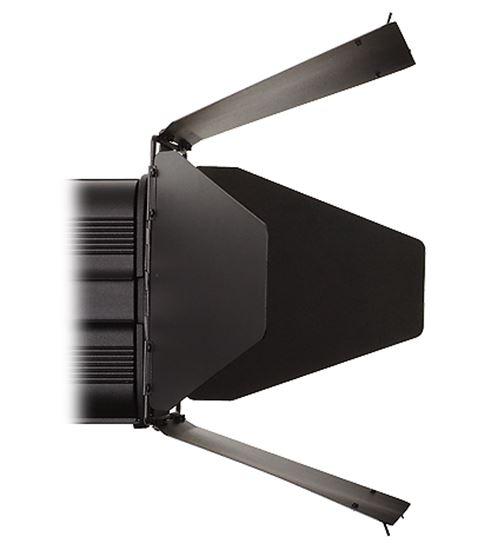 Obrázek Čtyřkřídlé odstíňovací klapky otočné 360 stupňů.