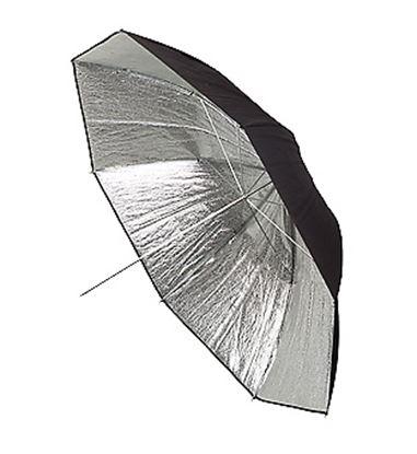 Obrázek Deštník stříbrný o průměru 100 cm