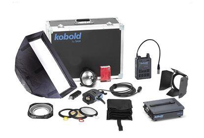 Obrázek Kobold DW 200 AC/DC Softlight SET ( vodě odolné daylight světlo )