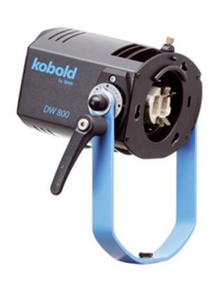 Obrázek Lampa DW 800 (bez daylight žárovky, reflektoru a síťového kabelu) vč. stativového L-držáku ( vodě odolné daylight světlo )