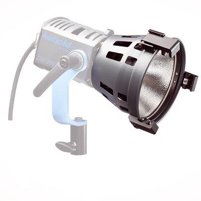 Obrázek Open Face reflektor vč. odstínovacích klapek pro Lampu DW 200