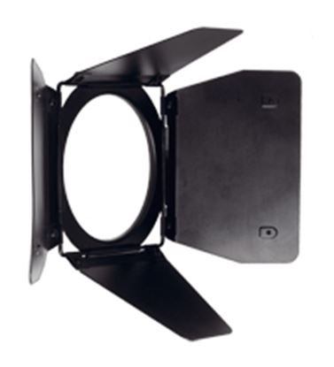 Obrázek 4-křídlé odstíňovací klapky pro reflektor Open Face/Par (DW 575 / DW 800)