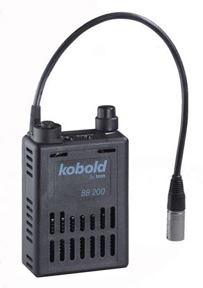 Obrázek Kobold Battery BB200 X with 4 pin XLR-plug pro Lamp base DW 200