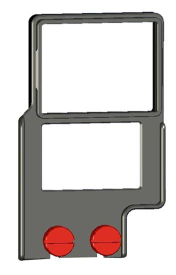 Obrázek Rámeček pro připevnění Z-Finderu k zrcadlovkám s menším tělem a battery gripem