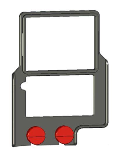 Obrázek Rámeček pro připevnění Z-Finderu k zrcadlovkám s větším tělem