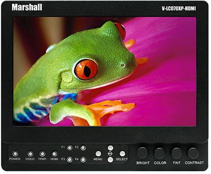 Obrázek Marshall odkuk monitor V-LCD70XP-HDMI