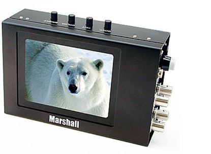 Obrázek V-LCD4-PRO-L 4' High resolution active matrix color LCD monitor
