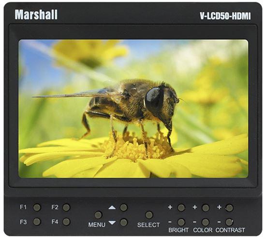 """Obrázek 5"""" Marshall odkuk monitor V-LCD50-HDMI"""