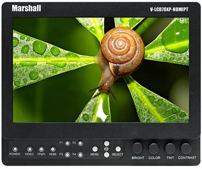 Obrázek Marshall odkuk monitor V-LCD70XP-HDMIPT