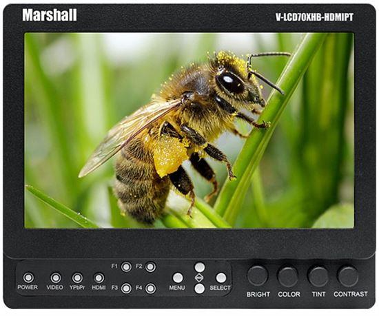 Obrázek Marshall odkuk monitor V-LCD70XHB-HDMIPT