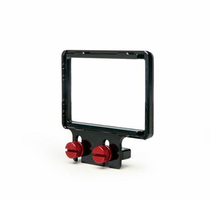 """Obrázek Rámeček pro připevnění Z-Finderu k zrcadlovkám s displejem do 3,2"""" a menším tělem"""