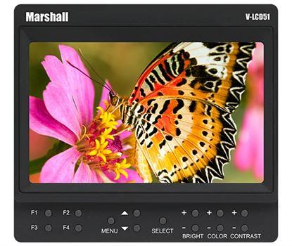 """Obrázek V-LCD51 5"""" Marshall odkuk monitor s HDMI"""