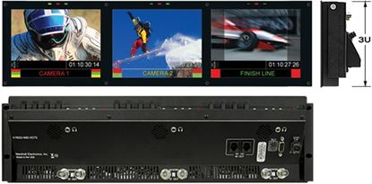 Obrázek V-R653-IMD-TE Triple 6.5' HD Rack Mountable LCD with built in IMD Function