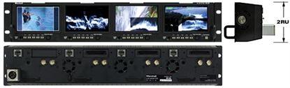Obrázek OR-434 Quad 4.3' Rack Mount Monitor