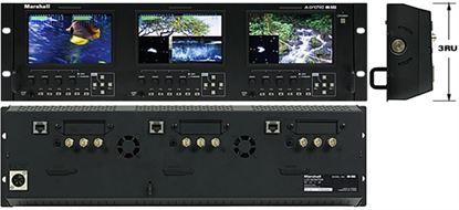Obrázek OR-503 Triple 5' Rack Mount Monitor