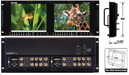 Obrázek V-R842DP-AFHD Dual 8.4' High Resolution HD monitor set with Advanced Features
